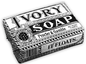 Ivory bar soap: The first brand ever